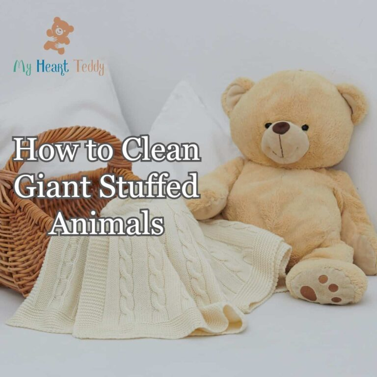How to clean giant stuffed animals