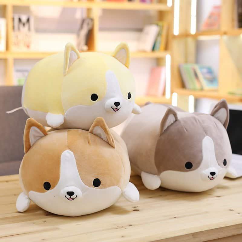 Cute Corgi Dog Stuffed Animal Toy