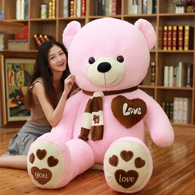 Giant I Love You Teddy Bear