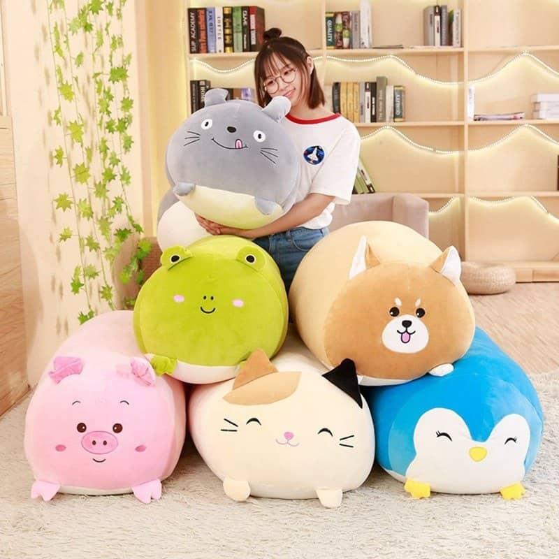 plush toys provide cuddly comfort
