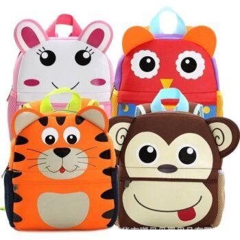 3D Cute Animal Backpack for Children 0