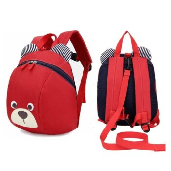 Cute Convenient Bear Shaped Kid's School Backpack