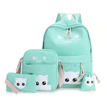 Cat Themed Backpack 0