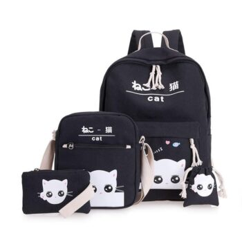 Cat Themed Backpack 3