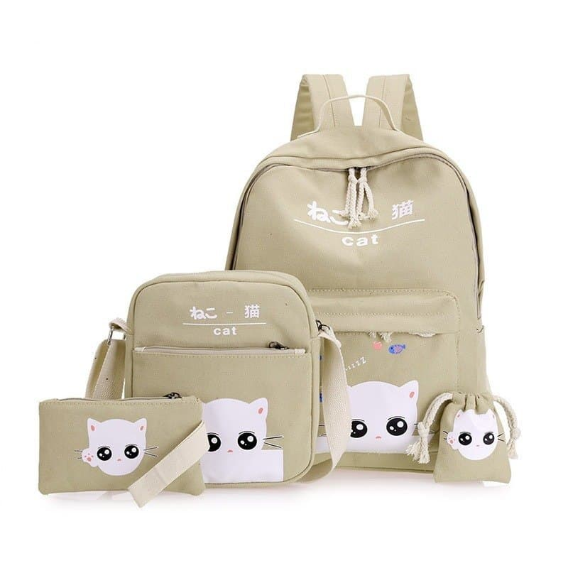 Girl's School Backpack 4 pcs Set 5