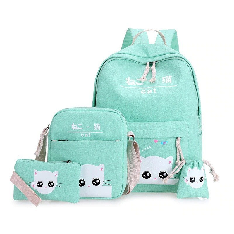 Cat Themed Backpack