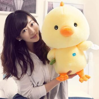 Cute Yellow Chicken Stuffed Animal Toy