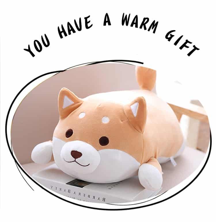 Cute Fat Shiba Inu Plush Toy 1