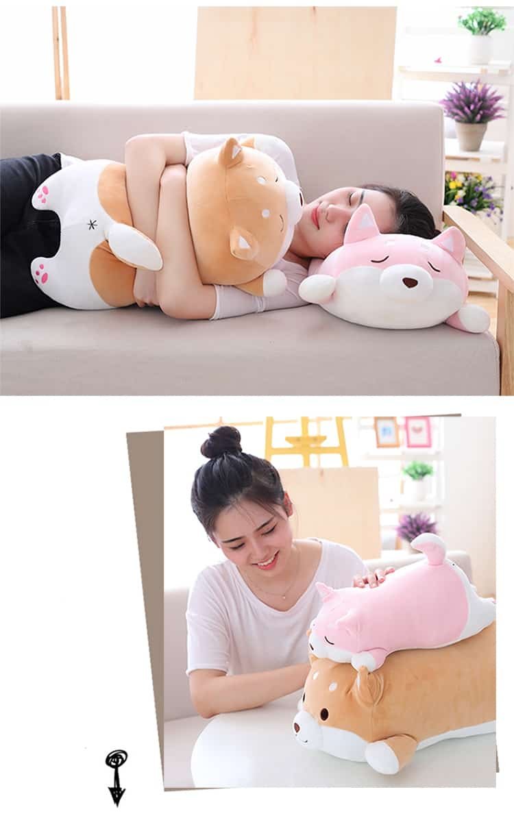 Cute Fat Shiba Inu Plush Toy 7