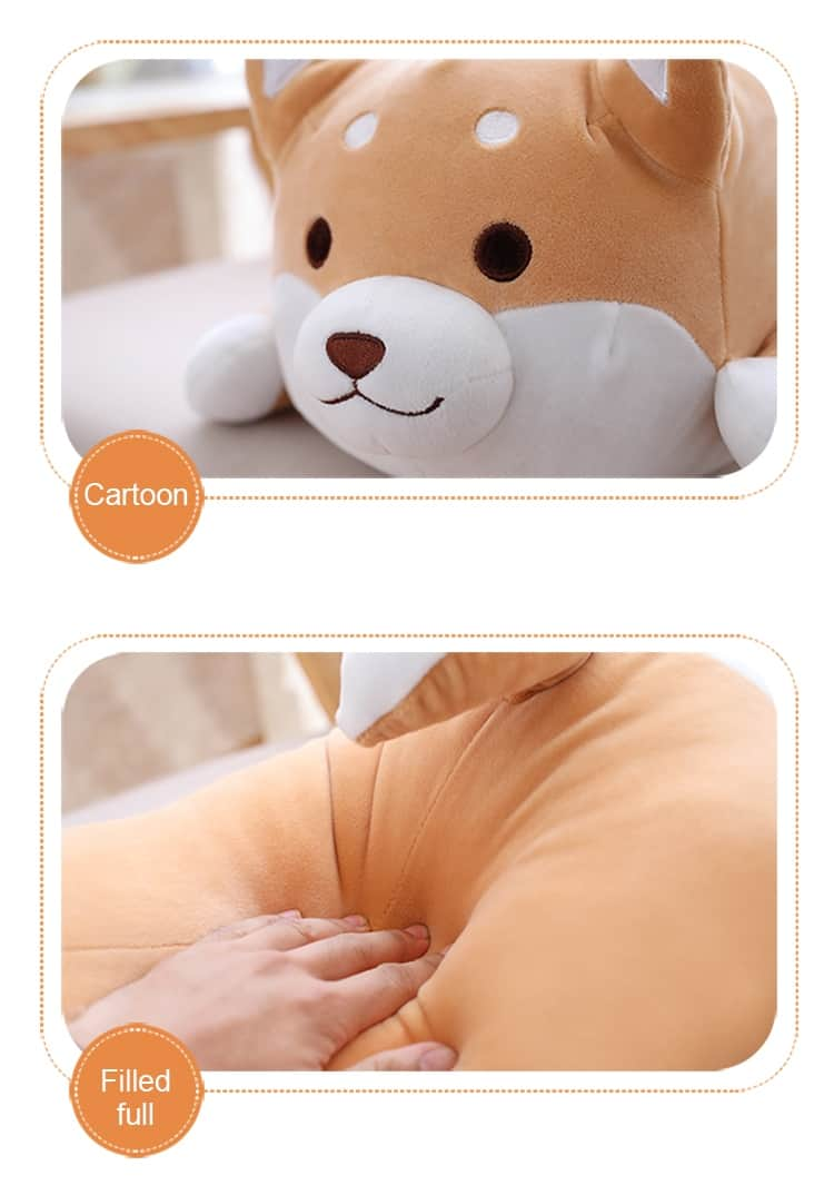 Cute Fat Shiba Inu Plush Toy 4
