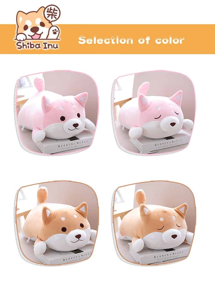 Cute Fat Shiba Inu Plush Toy 2