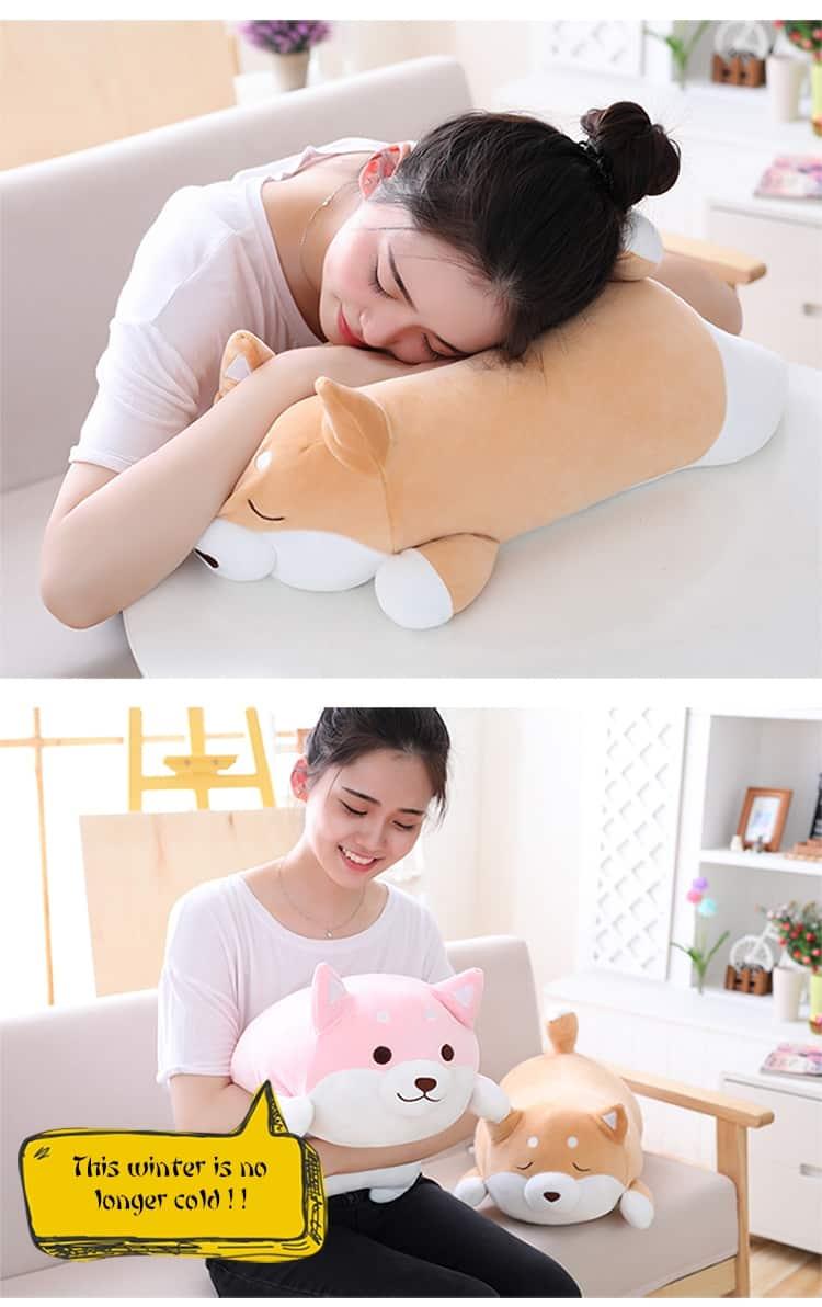 Cute Fat Shiba Inu Plush Toy 9