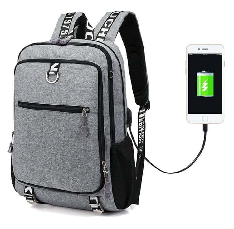 Large Capacity School Backpack for Boys