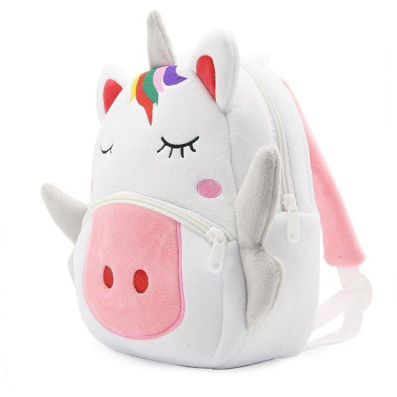 Plush Cartoon Animal Backpack