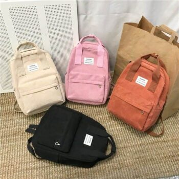 Velvet School Backpack 0
