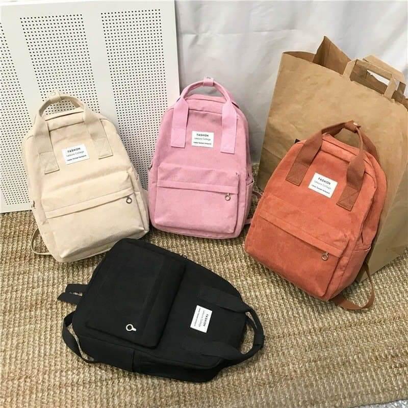 Velvet School Backpack for Teenage Girls 1