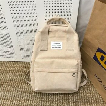Velvet School Backpack 1