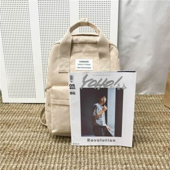 Velvet School Backpack for Teenage Girls