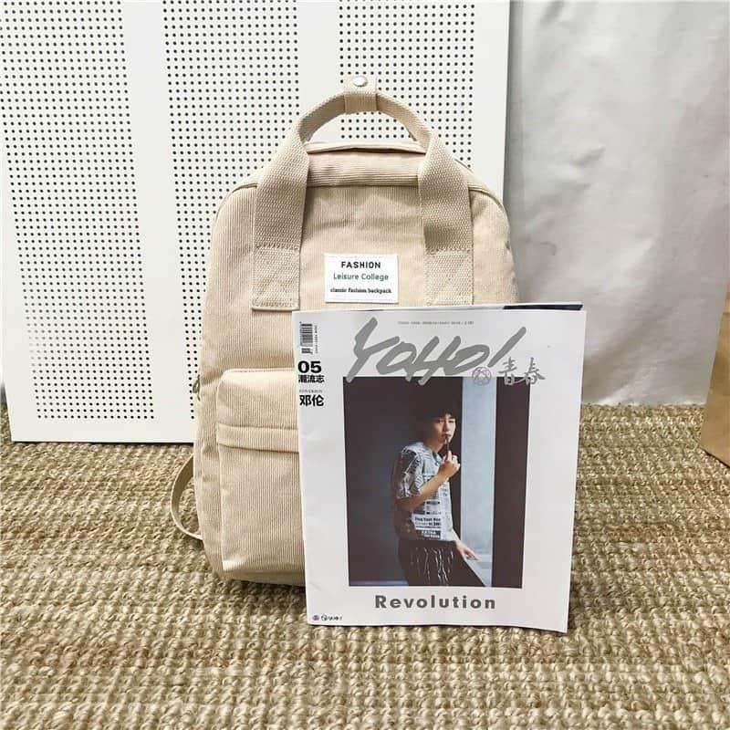 Velvet School Backpack for Teenage Girls 3