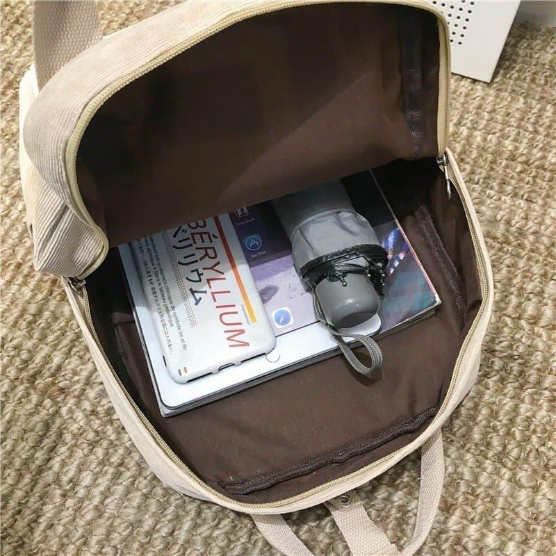 Velvet School Backpack for Teenage Girls 5