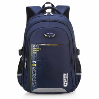 Waterproof Reflective Striped Kid's School Backpack