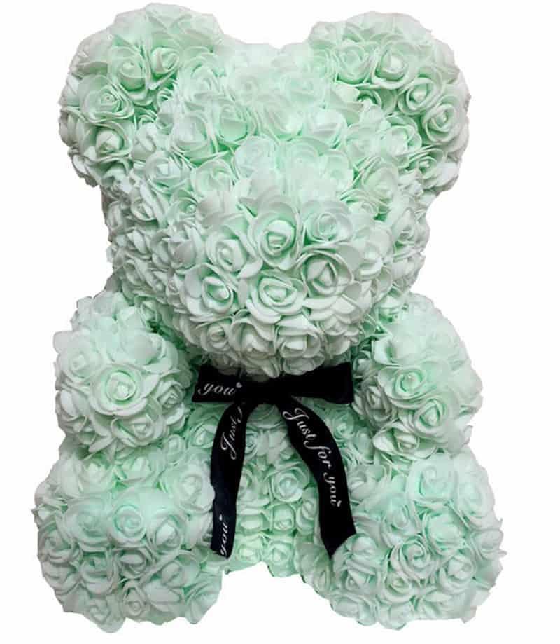 Artificial Rose Flower Teddy Bear