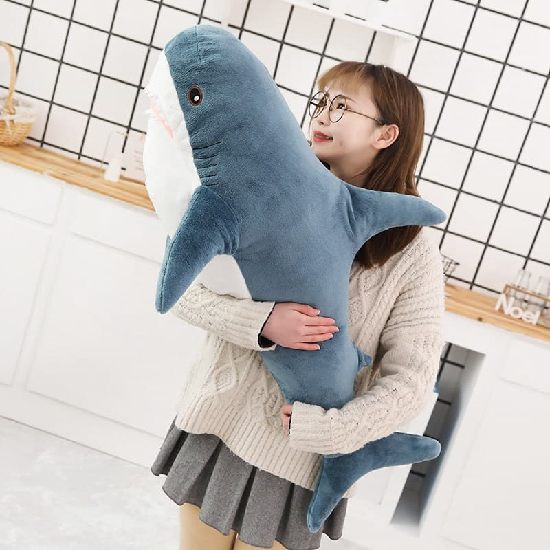 Cute Big Shark Plush 1