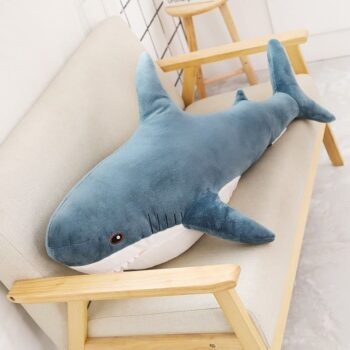 80-100cm Shark Stuffed Animal Toy