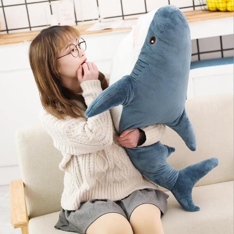 Cute Big Shark Plush 2