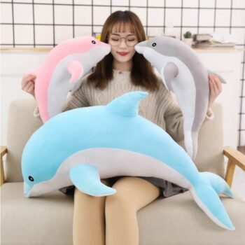 Cute Dolphin Plush