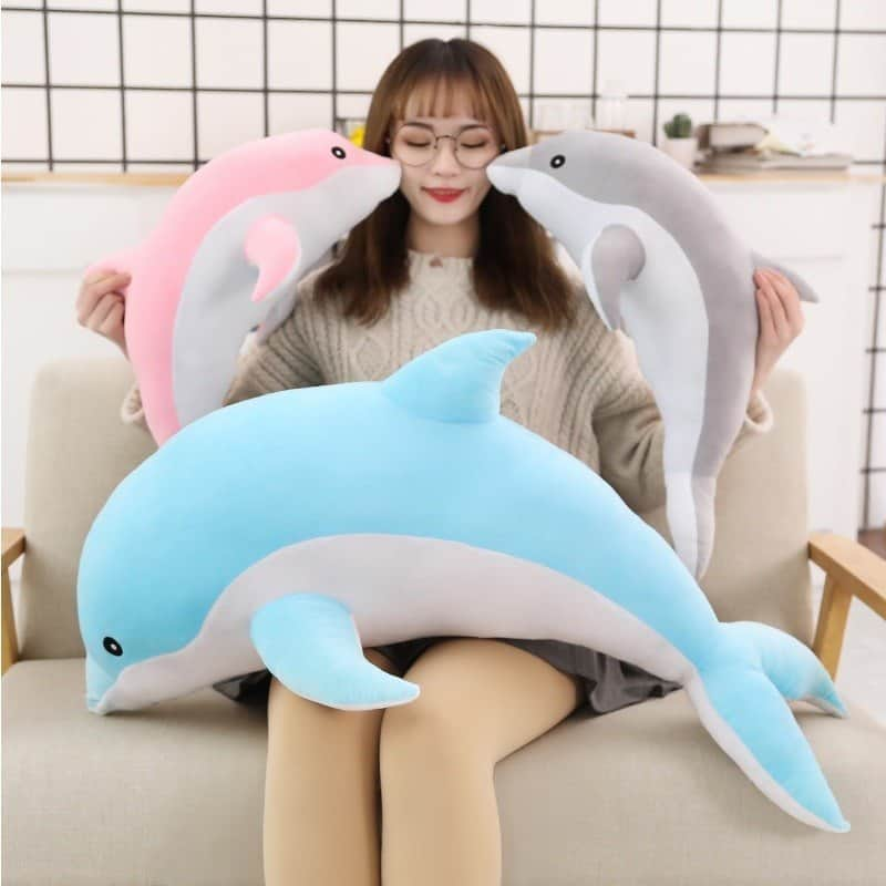 Cute Dolphin Stuffed Animal Toy 1