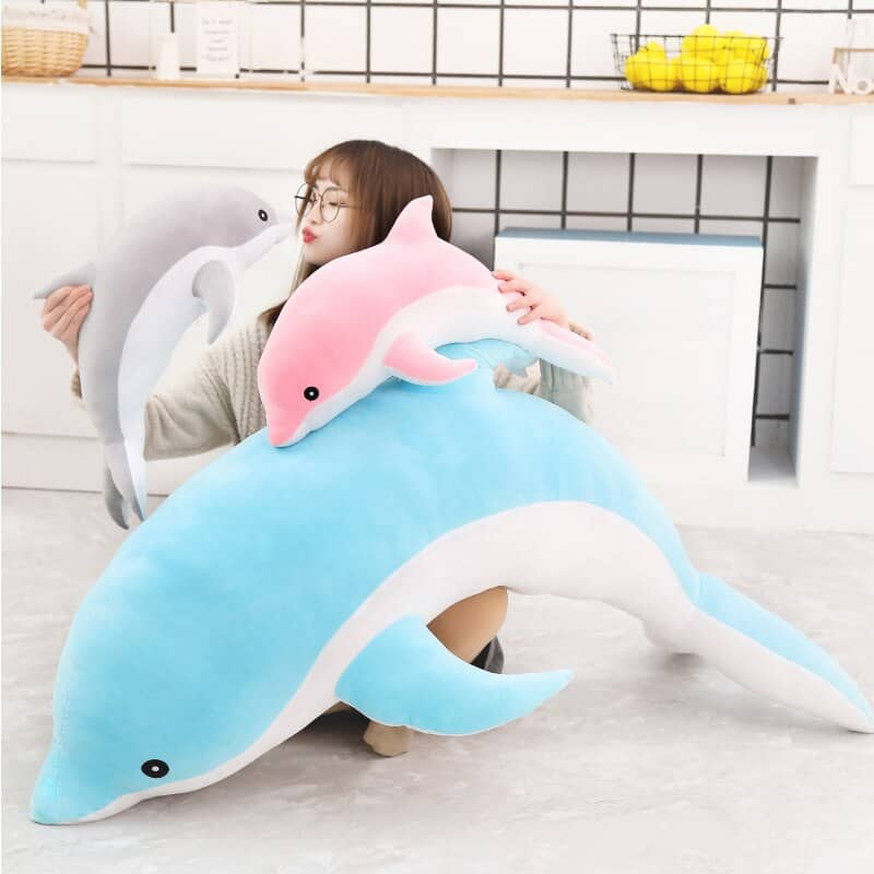 Cute Dolphin Stuffed Animal Toy 2