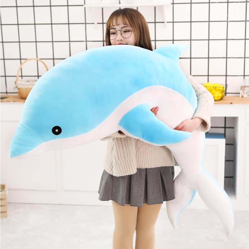Cute Dolphin Stuffed Animal Toy 3
