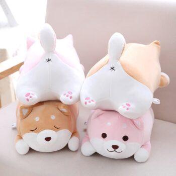 Cute Fat Shiba Inu Plush Toy 0