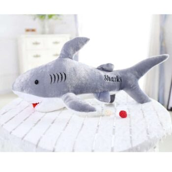 Cute Giant Shark Plush 0