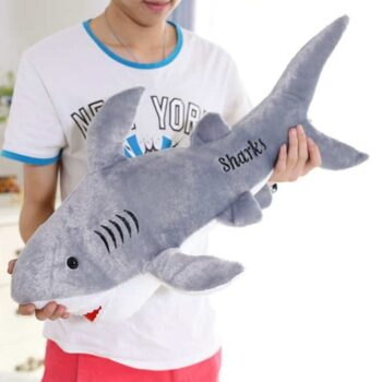 Cute Giant Shark Plush 1