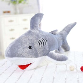 45cm Kawaii Giant Shark Stuffed Animal Toy