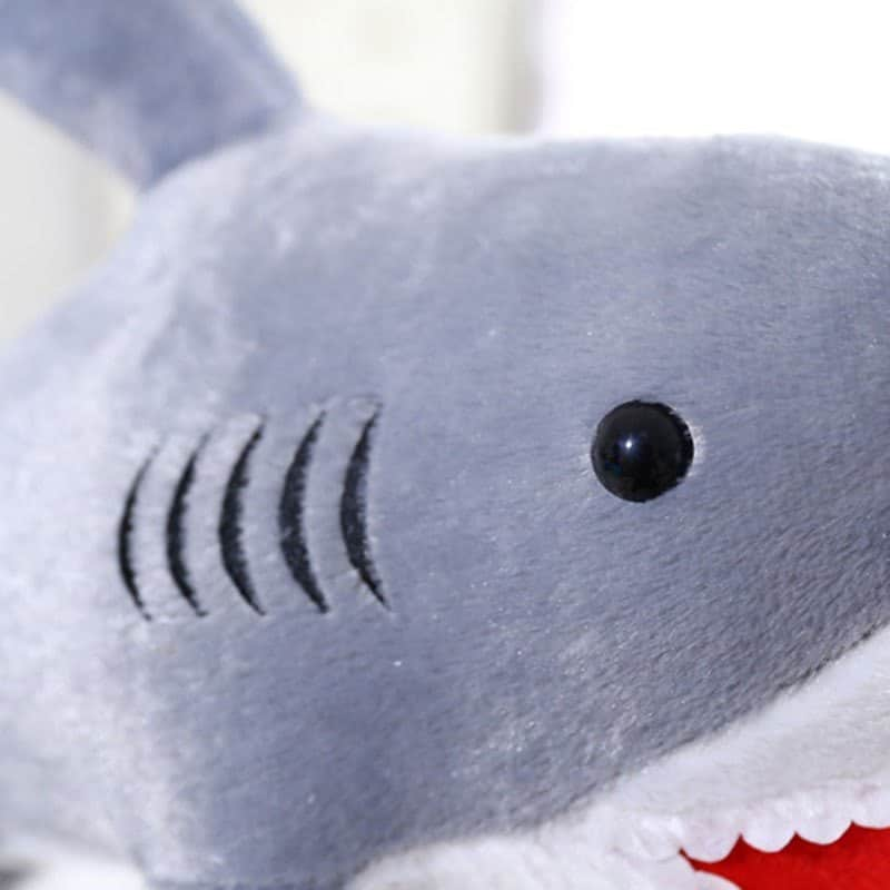 Cute Giant Shark Plush 4