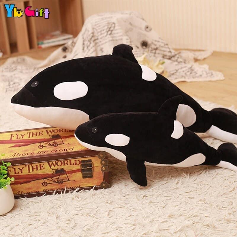 Cute Big Whale Stuffed Animal Toy 1