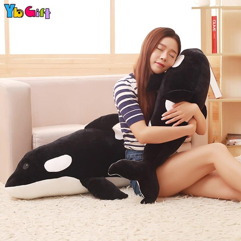 Cute Big Whale Stuffed Animal Toy 3