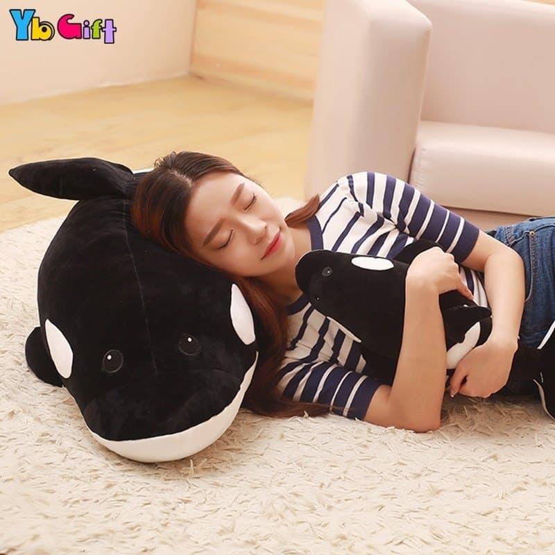 Cute Big Whale Stuffed Animal Toy 5