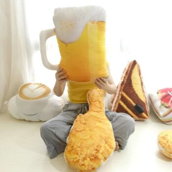 Food Shape Plush Pillow