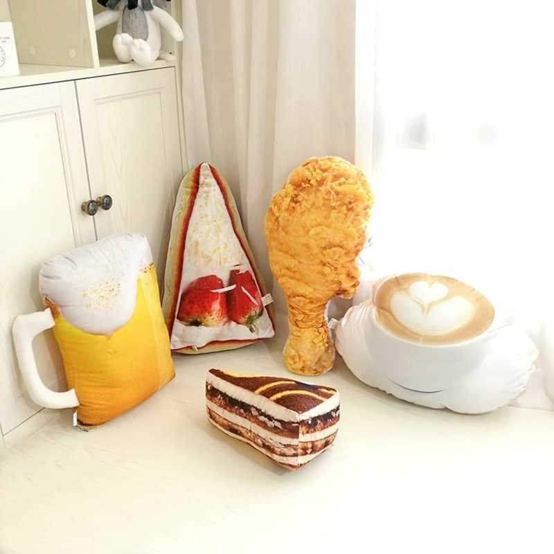 Food Shape Plush Pillow 3