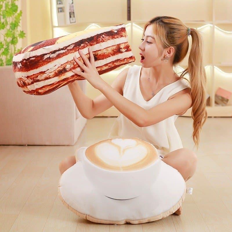 Food Shape Plush Pillow