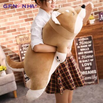 Cute Giant Sleeping Shiba Inu Plush