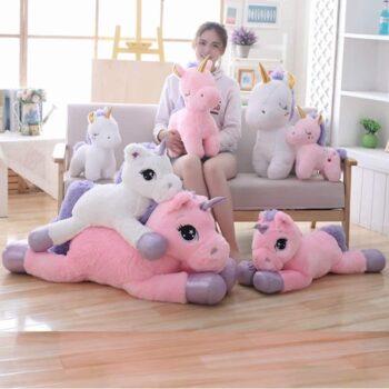 Giant Unicorn Stuffed Animal Toy 2