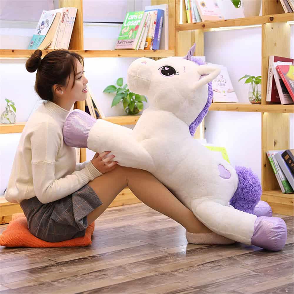 Giant Unicorn Stuffed Animal Toy