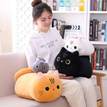 kawaii Cat Plush Pillow 0