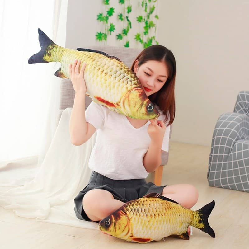 Kawaii Crucian Fish Stuffed Animal Toy 3