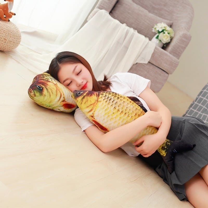 Kawaii Crucian Fish Stuffed Animal Toy 4
